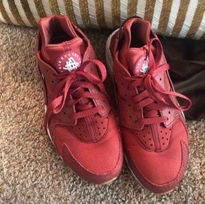 Burgundy Brick Red Nike Air Huarache